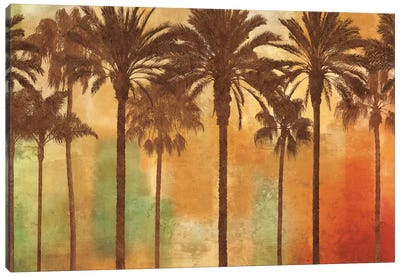 Palm Paradise Canvas Art Print