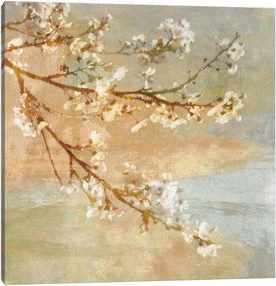 Blossoms On The Pond I Canvas Art Print