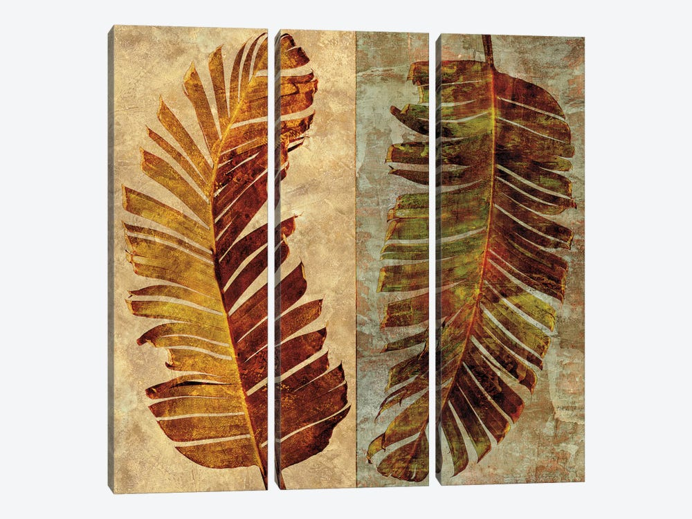 Palms Pairs I by John Seba 3-piece Art Print