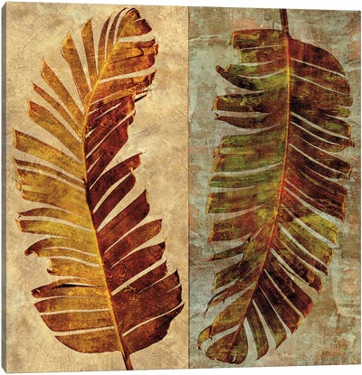 Palms Pairs I Canvas Art Print