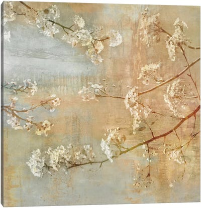 Blossoms On The Pond II Canvas Art Print