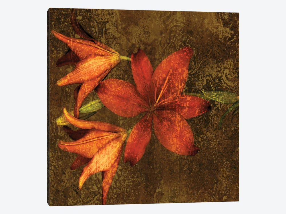 Red Lilies 1-piece Canvas Art Print