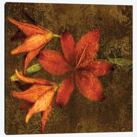 Red Lilies Canvas Print #JOH91} by John Seba Canvas Art Print
