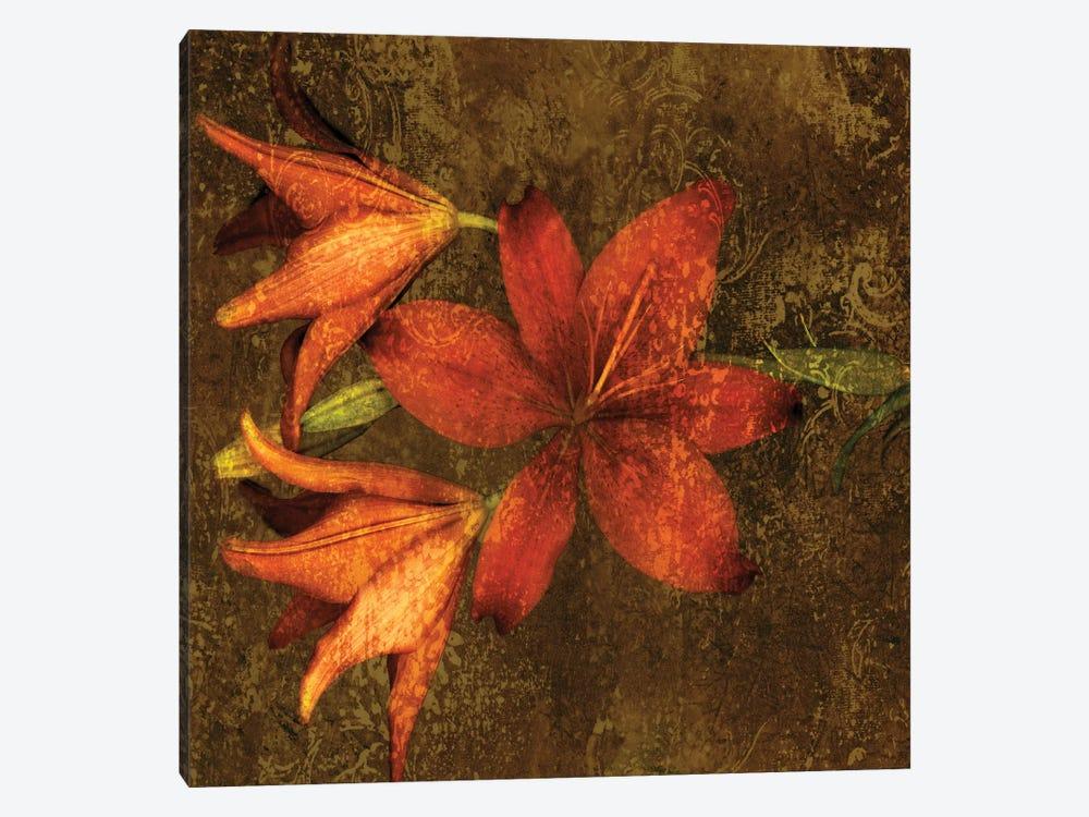 Red Lilies by John Seba 1-piece Canvas Art Print