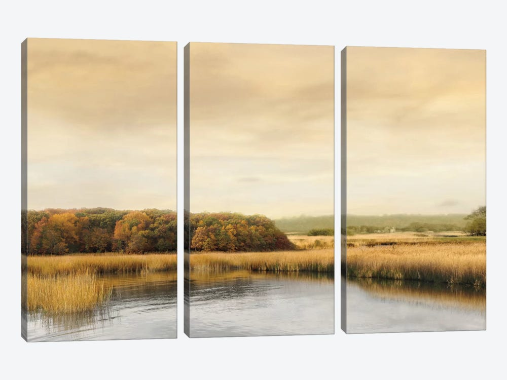 Ripples On The Water by John Seba 3-piece Canvas Artwork