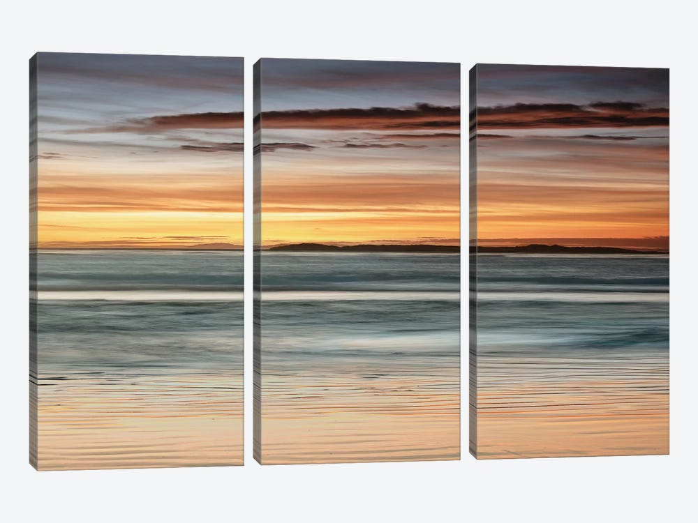 Sea And Sky by John Seba 3-piece Art Print