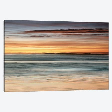 Sea And Sky Canvas Print #JOH97} by John Seba Canvas Wall Art
