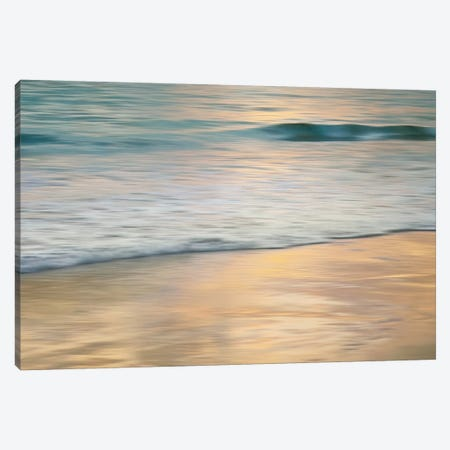 Shoreline Sunset Canvas Print #JOH98} by John Seba Canvas Art Print