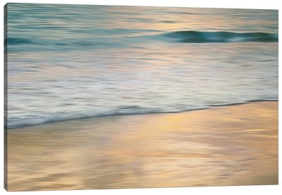 Shoreline Sunset Canvas Print #JOH98
