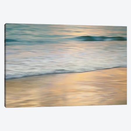 Shoreline Sunset Canvas Print #JOH98} by John Seba Canvas Art Print