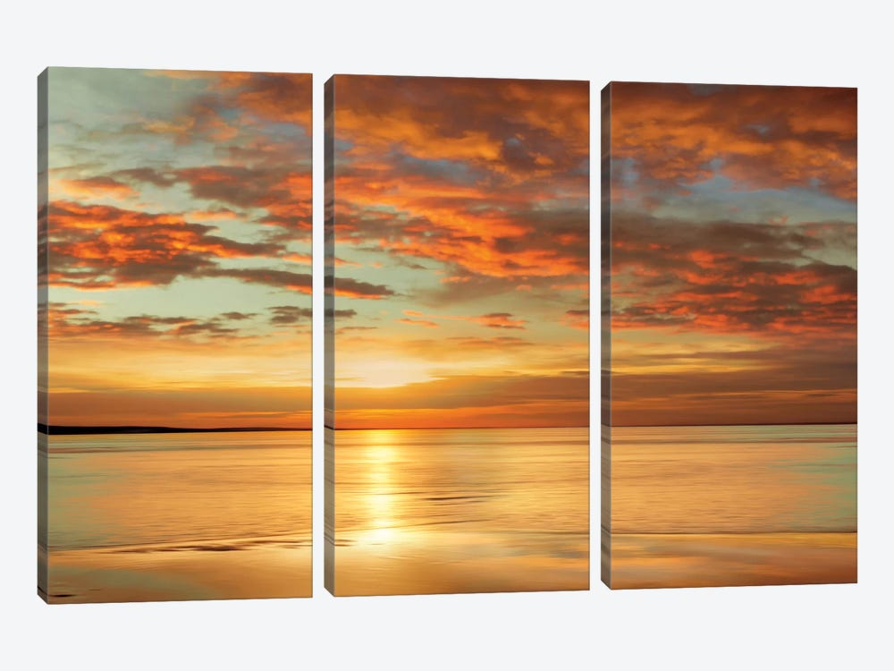 Sunlit by John Seba 3-piece Art Print