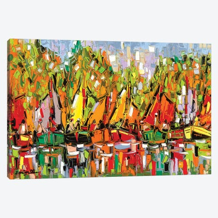 Fall Boat Show Canvas Print #JOI11} by Joachim Mcmillan Canvas Art