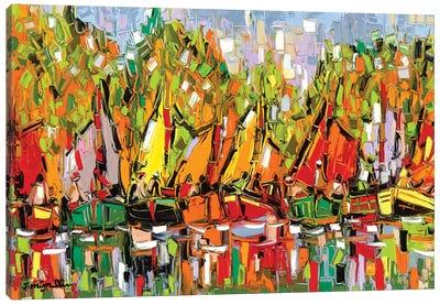 Fall Boat Show Canvas Art Print