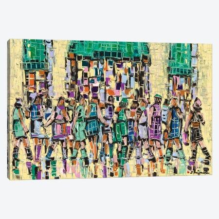 Market Street Canvas Print #JOI18} by Joachim Mcmillan Canvas Art