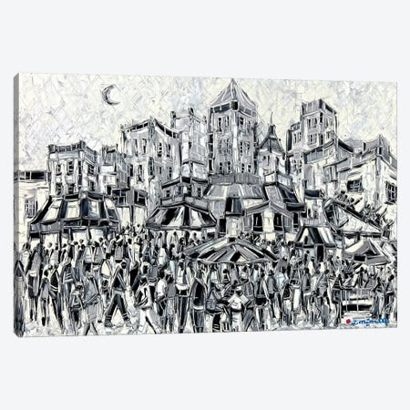Amusement City Canvas Print #JOI1} by Joachim Mcmillan Art Print