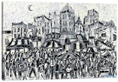 Amusement City Canvas Art Print