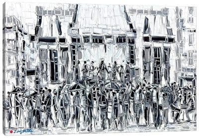 Music City Canvas Art Print