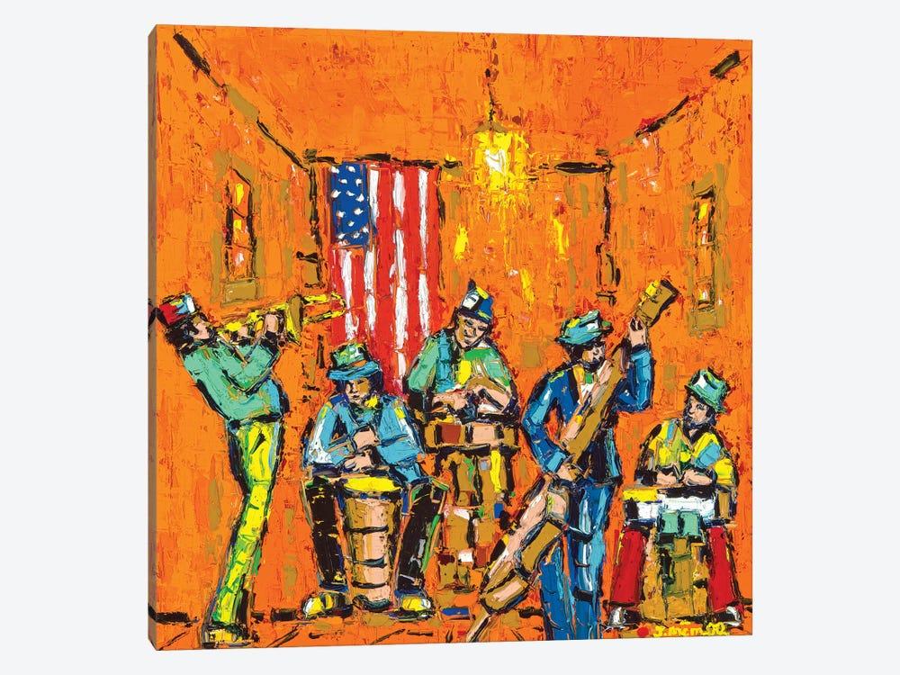 Musical Vibes by Joachim Mcmillan 1-piece Canvas Print