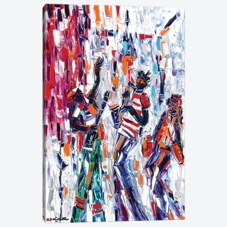 Musical Vibes Canvas Print #JOI22} by Joachim Mcmillan Canvas Print