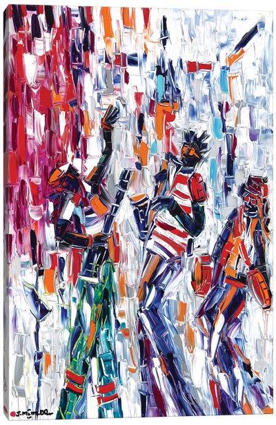 Musical Vibes Canvas Art Print
