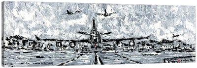 Storm Rush Canvas Art Print