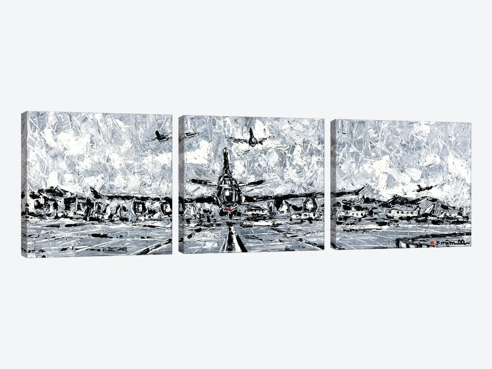 Storm Rush by Joachim Mcmillan 3-piece Canvas Artwork