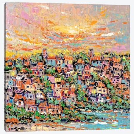 Sun Coast Canvas Print #JOI27} by Joachim Mcmillan Canvas Wall Art