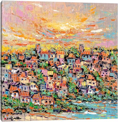 Sun Coast Canvas Art Print