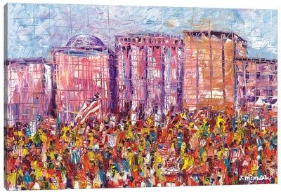The Flag Canvas Art Print