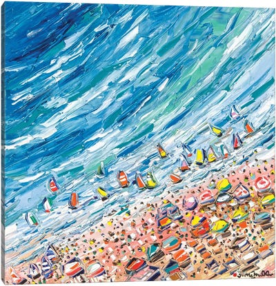 Bacolet Beach Canvas Art Print