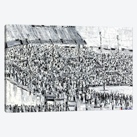 The Speech Canvas Print #JOI30} by Joachim Mcmillan Canvas Art