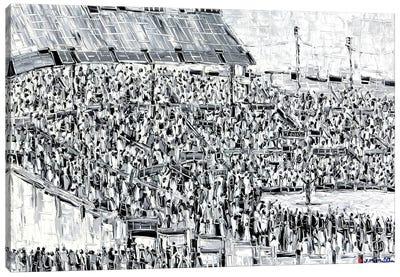 The Speech Canvas Art Print