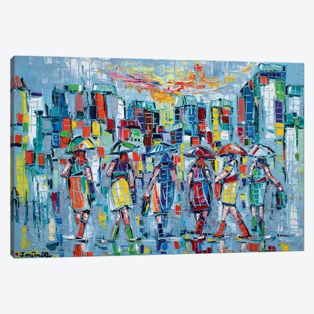 Bargainers Canvas Print #JOI3} by Joachim Mcmillan Art Print