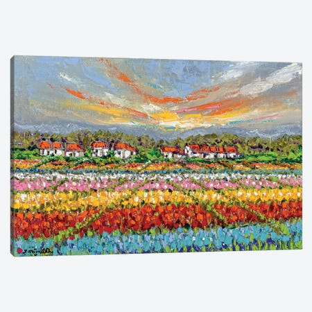Bliss Garden Canvas Print #JOI6} by Joachim Mcmillan Canvas Art