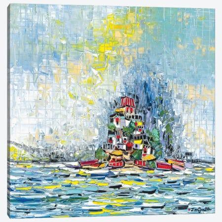 Castle Island Canvas Print #JOI7} by Joachim Mcmillan Canvas Wall Art