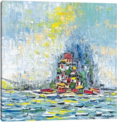 Castle Island Canvas Art Print