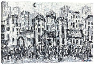 City Classic Canvas Art Print