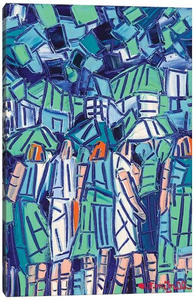 City Fragments Canvas Art Print