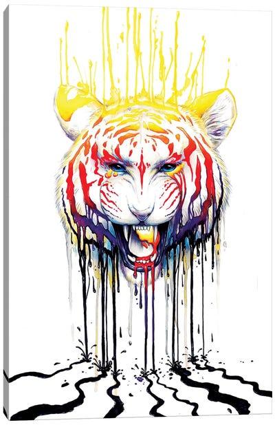 Fading Canvas Art Print