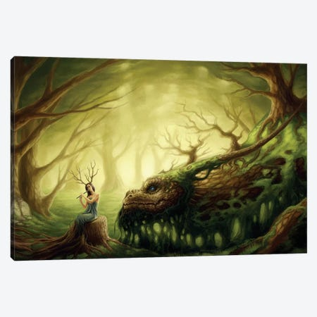 Forgotten Fairytales Canvas Print #JOJ13} by JoJoesArt Art Print