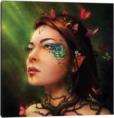 Gaia Canvas Art Print
