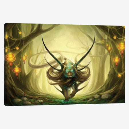 God Of Evanescence Canvas Print #JOJ15} by JoJoesArt Canvas Art