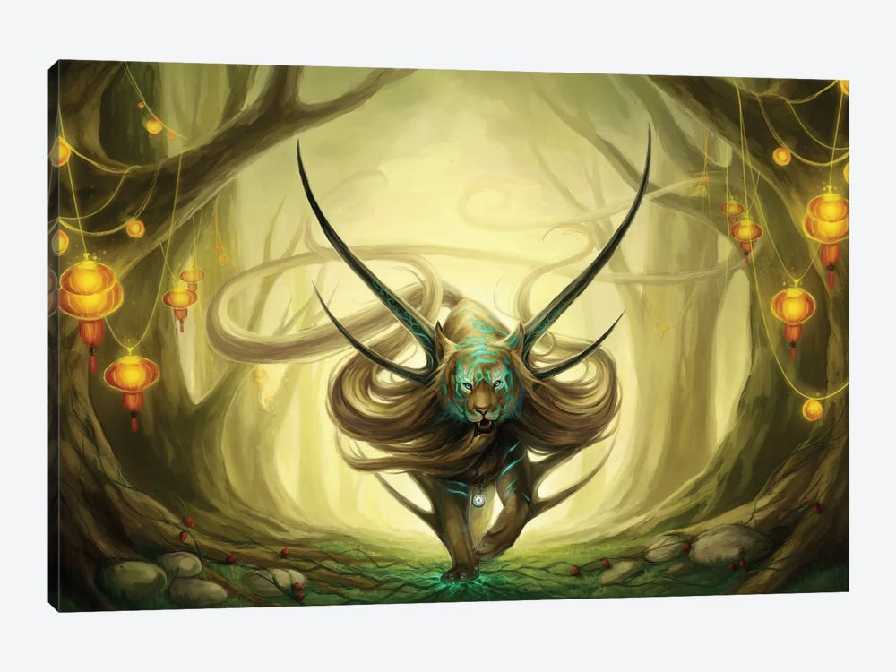 God Of Evanescence by JoJoesArt 1-piece Canvas Artwork