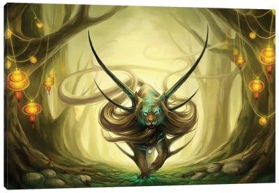 God Of Evanescence Canvas Art Print