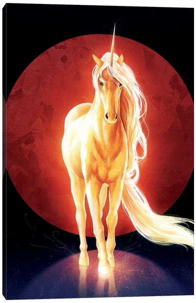 Last Unicorn Canvas Art Print