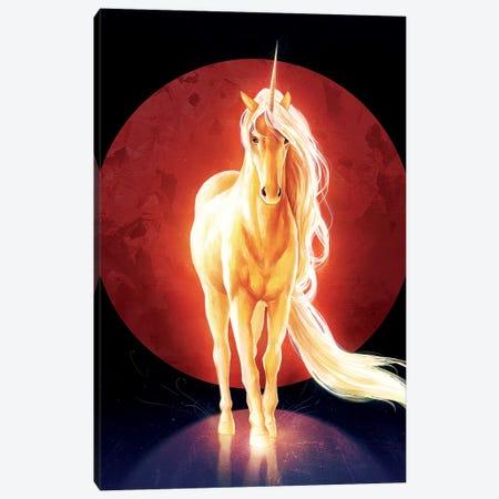 Last Unicorn Canvas Print #JOJ16} by JoJoesArt Canvas Wall Art