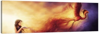 Out Of The Ashes Canvas Art Print