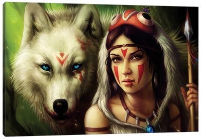 Warrior Princess Canvas Print #JOJ20