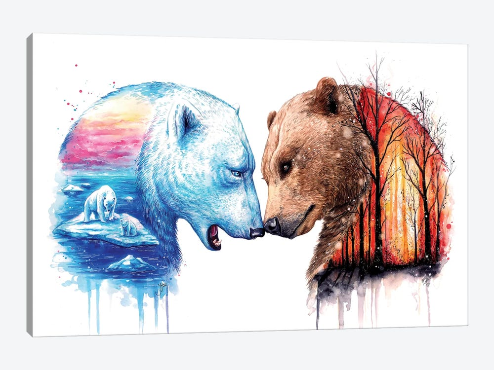 We Are In This Together by JoJoesArt 1-piece Art Print