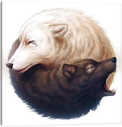 Yin And Yang Canvas Print #JOJ23